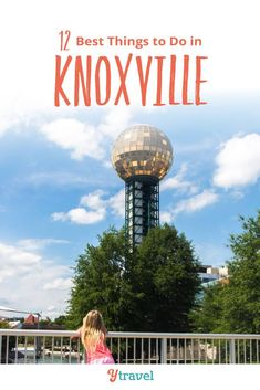 Best Family Activities in Knoxville, TN. Planning to visit Knoxville? Here are 12 fun things to do in Knoxville Tennessee plus get tips on hotels and where to stay and best restaurants and places to eat local food. Don't go on your Knoxville vacation until you have read these Knoxville travel tips with kids. Outdoor attractions, downtown activities, and more for your Tennessee road trip or weekend getaway #Knoxville #Tennessee #travel #familytravel #tennesseetravel #knoxvilletravel #vacation