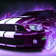 I'm not generally very drawn to such cars .. but this is PURPLE!