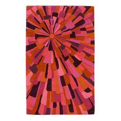 angela adams <3 {Sunset Wool Rug 8x10 Plum}