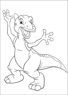 The Land Before Time Online Coloring Pages Printable Book For Kids 6