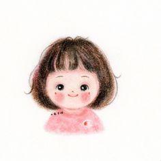 3d Pen, Pen Art, Beauty Art, Cute Dolls, Cute Illustration, Cute Cartoon, Cute Drawings, Cute Art, Art Girl