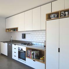 cantilever interiors kitchen North St E Diy Wardrobe, Wardrobe Design, Perfect Wardrobe, Wardrobe Ideas, Kitchen Sets, Kitchen And Bath, Bath Cabinets, Kitchen Cabinets, Terrazo Flooring