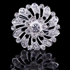 Find More Brooches Information about 35*35mm handmade Round flowers vintage brooch color rhinestone brooches for women diy Fashion Jewelry breastpin brooch pins,High Quality brooch findings,China brooch dragon Suppliers, Cheap brooch accessories from Playful beauty department store on Aliexpress.com