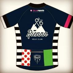 Excited to try out the new #cyclingjersey of @riennn_velo_club  tonight! #cycling #cyclingkit