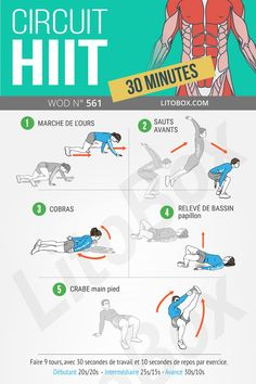 circuit-hiit/ - The world's most private search engine Cardio Workout At Home, Gym Workout Tips, Boxing Workout, At Home Workouts, Workout Men, Cardio Workouts, Jiu Jitsu, Tabata Training, 30 Day Plank Challenge
