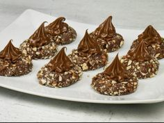 Sweet Recipes, Cake Recipes, Dessert Recipes, American Cookie, Chocolate Caramels, Nutella, Confectionery, Food To Make, Truffles