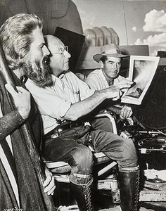 On the set of THE TEN COMMANDMENTS.
