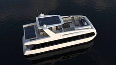 Catamaran houseboat / inboard / flybridge OVERBLUE 44 Overblue