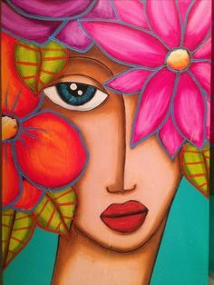 ideas for painting oleo face Pop Art, Indian Art Paintings, Arte Pop, Pastel Art, Acrylic Art, Painting & Drawing, Gouache Painting, Painting Inspiration, Watercolor Art