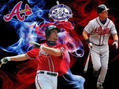 He's still the man! Braves Baseball, Baseball Stuff, Chipper Jones, Atlanta Braves, What Is Love, The Man, Running, Sports, Idol