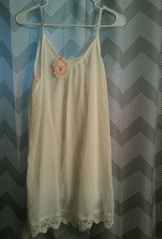 Brand new. Night gown. White xl   Lace edged bottom. Smoke and pet free home | eBay!