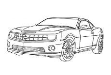 Bumblebee Car Chevy Camaro Coloring Pages Best Place To Color In 2020 Cars Coloring Pages Camaro Car Camaro