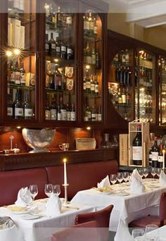 Restaurant Acetaia in München Munich, Restaurant Bar, China Cabinet, Liquor Cabinet, Storage, Room, Germany, House Ideas, Furniture