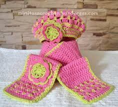 Resultado de imagen para imagenes de bufandas tejidas a crochet