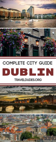 A complete guide to exploring Dublin, Ireland. Best things to do from the Guinness Storehouse to Trinity College + practical trips for your trip. Travel in the United Kingdom. | Travel Dudes Travel Community #Dublin #Ireland #irelandtravel