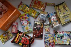 Unboxing of @TokyoTreat Japanese Candy Snack Box #TokyoTreat