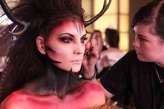 IMATS 2013 BATTLE OF THE BRUSHES: DEVAN WEITZMAN  http://chronostylist.freshnet.se/