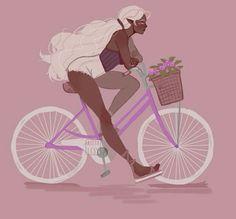 """""""ma dove vai, bellezza in bicicletta.."""""""