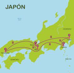 Next stop... Que ver en Japon | Itinerarios para viajar a Japon en 15 dias | Way Away