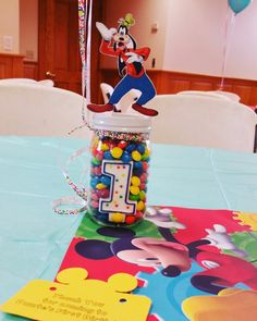 Mickey Mouse Clubhouse Theme Birthday Centerpiece! & 50 Ideas Mickey Mouse Clubhouse Birthday Party | Pinterest | Mickey ...