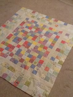 March 5 – Today's Featured Quilts – 24 Blocks 24 Blocks, Flannel Quilts, Projects To Try, Scrap, Quilting, March, Kids, Decor, Flannel Rag Quilts