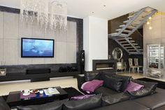 Salon - Loft w stylu Glamour