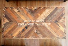 RECLAIMED WORKS • Reclaimed Gallery: S様邸 Reclaimed Coffee Table