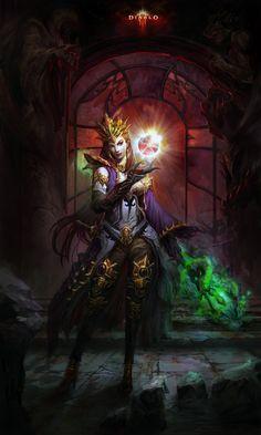 Diablo III - Wizard by byron 007