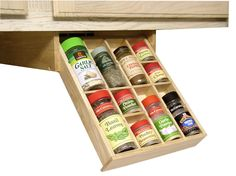 I'd use something like this for organizing pills, vitamins, etc....Under Cabinet Spice Rack:  A Smart Solution For Your Kitchen