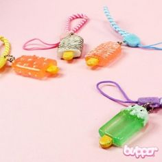 Popsicle phone strap - Straps & Charms - Mobile Accessories | Blippo.com - Japan & Kawaii Shop