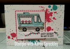 Stampin up Tasty Trucks