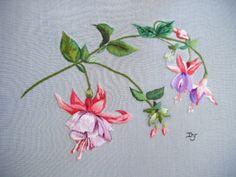 Peinture à l'aiguille réalisée par Dominique
