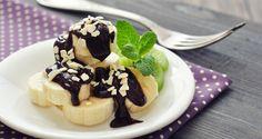 csokiszószos banánszeletek