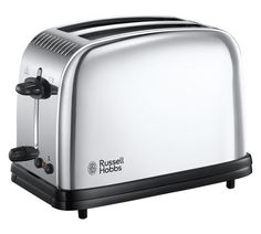 Buy a used Russell HOBBS Classic 23310 Toaster Stainless Steel. ✅Compare prices by UK Leading retailers that sells ⭐Used Russell HOBBS Classic 23310 Toaster Stainless Steel for cheap prices. Russel Hobbs, Chester, Tostadas, Cheap Toaster, Small Kitchen Appliances, Home Appliances, Lotus Grill, Retail Websites, Bread Bin