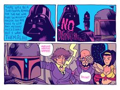 'Bounty Hunters, We Don't Need Their Scum!' artwork by Dan Hipp