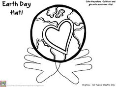 FREE Earth Day hat!  Celebrate the Earth with a super cute hat your students can make and wear!
