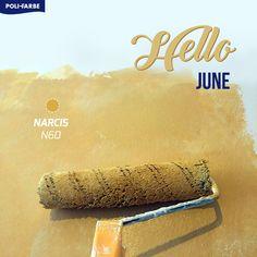 Hello June! 😍🌼  Dnes sa nezačína len nový mesiac, ale aj nové ročné obdobie! Začína sa LETO! ☀️🍹 Nadišiel čas na oživenie farieb vášho domova. Čo tak použiť odtieň niektorej krásnej letnej farby, akou je napríklad hrejivý odtieň žltej? 😊  Páči sa vám? #painting #wallpainting #home #homedecor #diy #farebneinspiracie #farba #colour #decoration #malovanie #stena Banana Bread, Desserts, Food, Home Decor, Tailgate Desserts, Deserts, Decoration Home, Room Decor, Essen