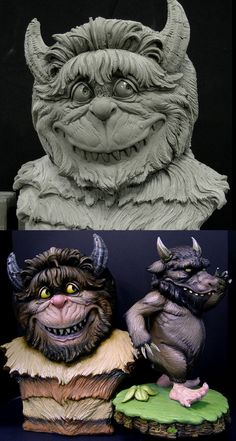 Wild Thing Maquette 2 by DonLanning on DeviantArt