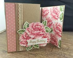 By Kabrina Piirlaid   INKspired Blog Hop - Stippled Blossoms   Stampin'Up!