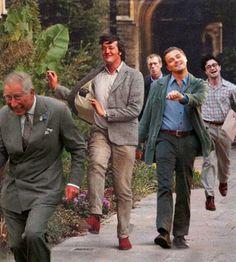 Stephen Fry, Leonardo DiCaprio, Prince Charles, Daniel Radcliffe, Hugh Laurie... but I am confused...