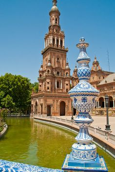 Plaza de España, Seville, Spain.  http://www.costatropicalevents.com/en/costa-tropical-events/andalusia/cities/seville.html