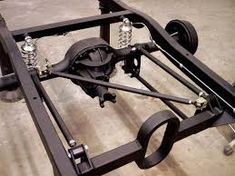 Rear Suspension And Chassis Tuning - Hot Rod Network Hot Rod Trucks, Mini Trucks, Rat Rod Build, Suspension Design, Air Ride, Chevy Pickups, Metal Fabrication, Kit Cars, Modified Cars