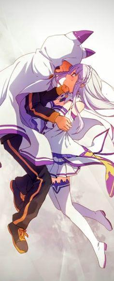 - Re:Zero - Emilia x Subaru
