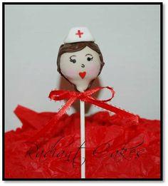 Tasty Travel Treats for thstravel.com #nurses! Nurse Cake Pop!
