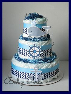 Hey, I found this really awesome Etsy listing at https://www.etsy.com/listing/105435789/nautical-diaper-cake-nautical-baby