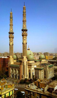 Cairo Egypt Al-Nour Mosque