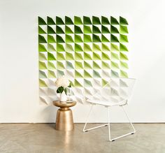 DIY Geometric Paper Backdrop by ENLY and How Life Unfolds -- head to the link for instructions! #ad #howlifeunfolds