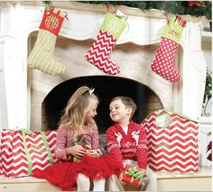 Our Personalized Holiday Stockings create the perfect touch to your Home's Christmas Decor. Get yours at www.thepreppypair.storenvy.com