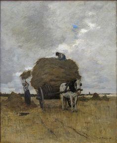 by Anton Mauve (Dutch 1838 - 1888)