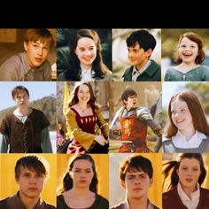 Narnia kids...look how they grew up over each movie!<3